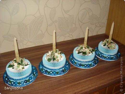 Торт из бумаги своими руками со свечками 32