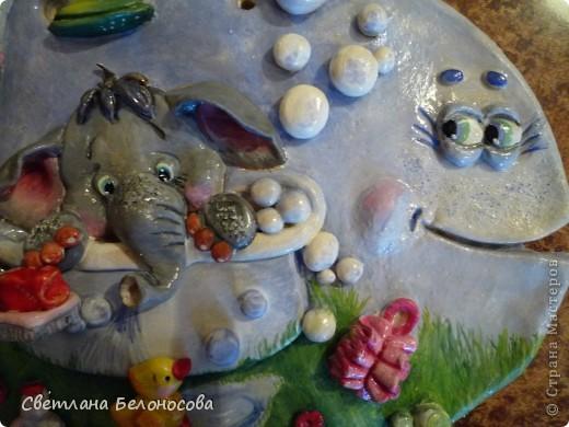 Поделка, изделие Лепка: Отдыхать удобней в ванне........... Тесто соленое Отдых. Фото 3