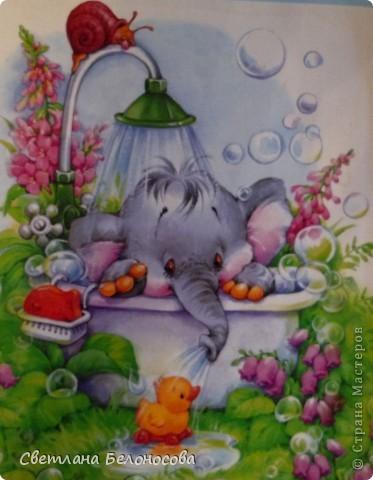 Поделка, изделие Лепка: Отдыхать удобней в ванне........... Тесто соленое Отдых. Фото 7