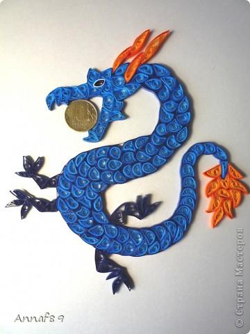 Мастер-класс Квиллинг: К наступающему году дракона Бумага Новый год. Фото 13