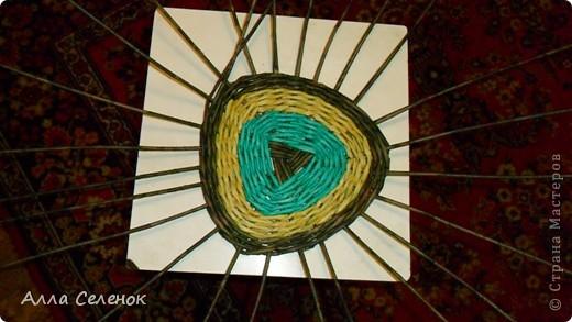 Мастер-класс Плетение: Плетение треугольного дна+МК к нему. Бумага газетная, Трубочки бумажные. Фото 7