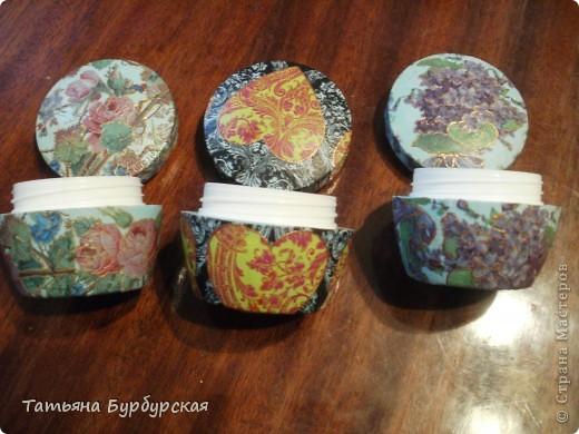 Поделки из под баночек от крема