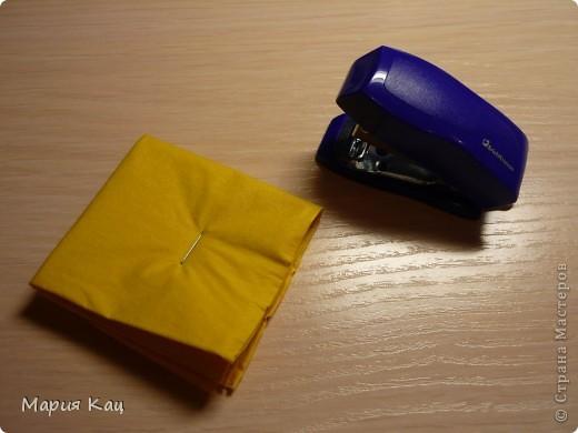 Мастер-класс: Салфеточное чудо! +МК по просьбам Бумага гофрированная, Бусинки, Салфетки. Фото 3