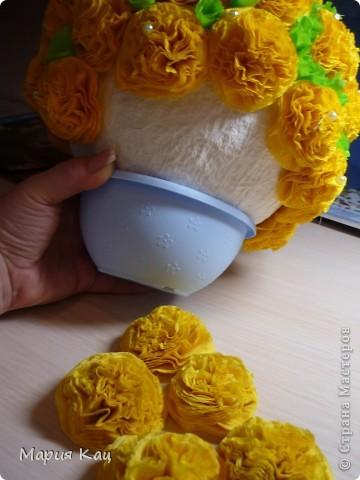 Мастер-класс: Салфеточное чудо! +МК по просьбам Бумага гофрированная, Бусинки, Салфетки. Фото 8