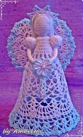 Вязание крючком: Ангел