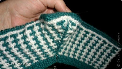 Гардероб, Мастер-класс Вязание спицами: Вязание тапочек-следочков. Пряжа. Фото 12