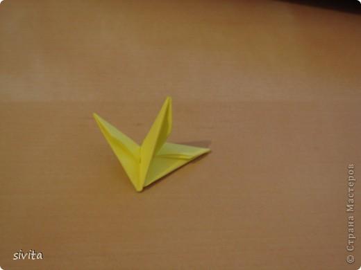 Поделка, изделие Оригами модульное: Дракон. Символ наступающего года! Бумага Новый год. Фото 9