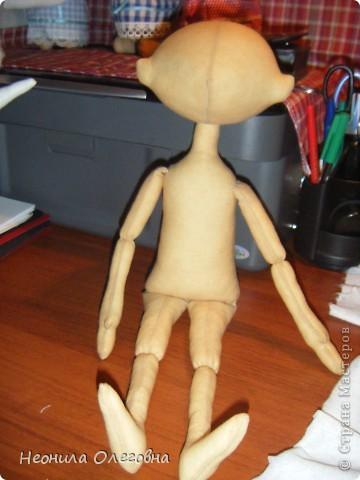Мастер-класс Шитьё: Милый друг...или как я делаю тыквоголовок... Краска, Кружево, Ткань, Шерсть. Фото 15
