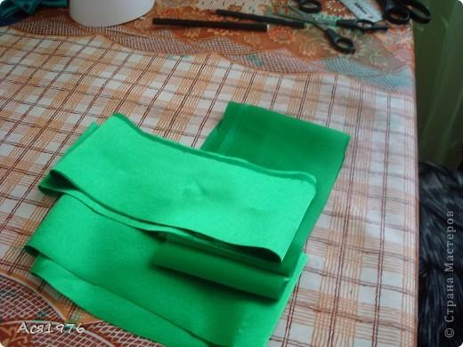 Мастер-класс Шитьё: МК елочки Ткань Новый год. Фото 5