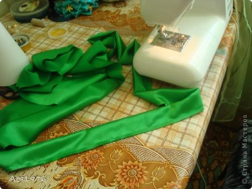 Мастер-класс Шитьё: МК елочки Ткань Новый год. Фото 6