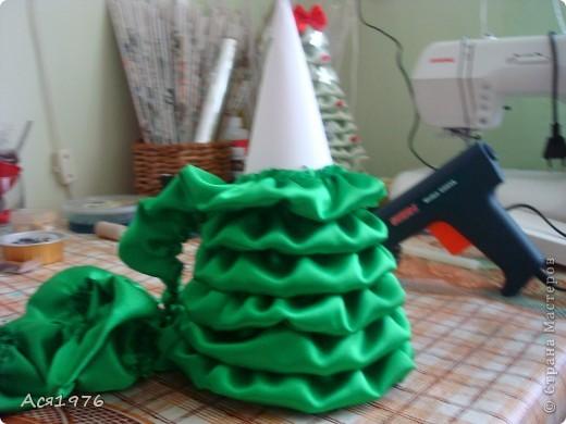 Мастер-класс Шитьё: МК елочки Ткань Новый год. Фото 9