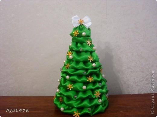 Мастер-класс Шитьё: МК елочки Ткань Новый год. Фото 1