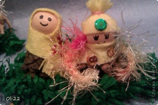 Поделка, изделие: Забавные гномики Новый год. Фото 3