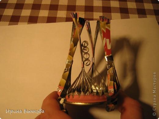 Мастер-класс: Игольница Материал бросовый. Фото 14