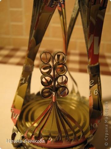 Мастер-класс: Игольница Материал бросовый. Фото 15