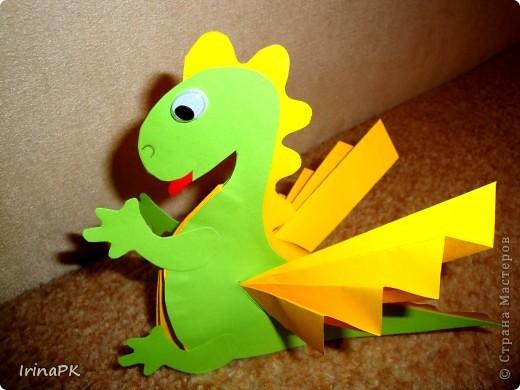 Игрушка, Мастер-класс Бумагопластика: Мои Дракоши. Мастер-класс + шаблоны. Бумага Новый год. Фото 1