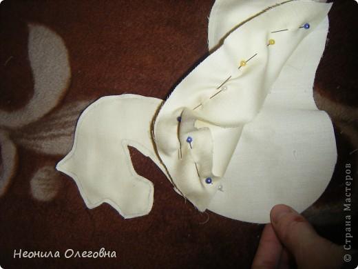 Мастер-класс Роспись, Шитьё: МК Интерьерный Дракон... Ткань Новый год. Фото 7