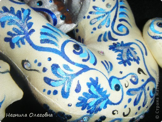 Мастер-класс Роспись, Шитьё: МК Интерьерный Дракон... Ткань Новый год. Фото 36