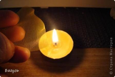 Мастер-класс, Украшение Шитьё: Цветок из органзы  Капрон. Фото 3