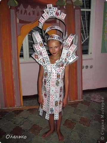 Как сделать костюм из мусорных пакетов своими руками для девочек