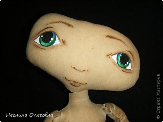 Мастер-класс Роспись, Шитьё: МК рисуем лицо текстильной кукле... Краска, Ткань. Фото 13