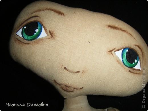 Мастер-класс Роспись, Шитьё: МК рисуем лицо текстильной кукле... Краска, Ткань. Фото 17