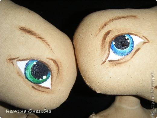 Мастер-класс Роспись, Шитьё: МК рисуем лицо текстильной кукле... Краска, Ткань. Фото 21