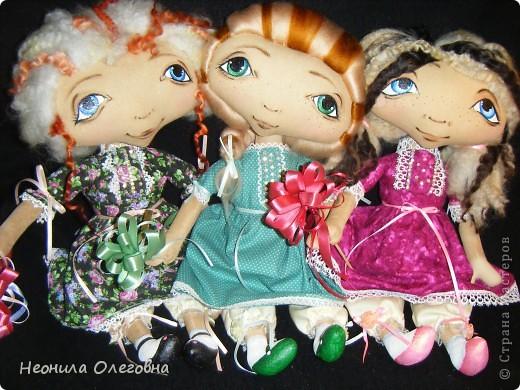 Куклы Шитьё: Текстильные куклы Шкодница, Кокетка, Милашка + выкройка))) Ткань. Фото 1