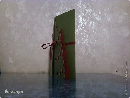 Открытка Вырезание: Ёлки!!!! Одна краше другой... Картон Новый год. Фото 4