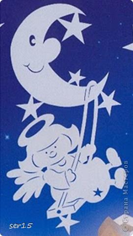 Поделка, изделие Вытынанка: Новогодние вытынанки + схемы ангелочков!