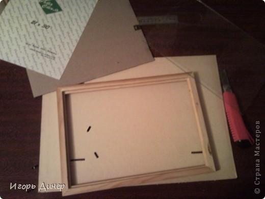 Мастер-класс: Подробный МК по углублению рамок для объемных панно и картин.. Фото 3