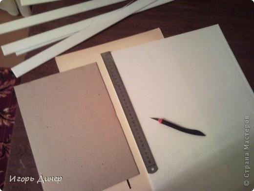 Мастер-класс: Подробный МК по углублению рамок для объемных панно и картин.. Фото 7