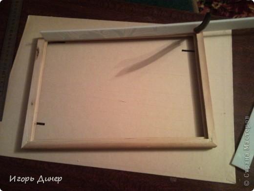 Мастер-класс: Подробный МК по углублению рамок для объемных панно и картин.. Фото 11