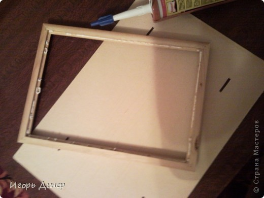 Мастер-класс: Подробный МК по углублению рамок для объемных панно и картин.. Фото 9