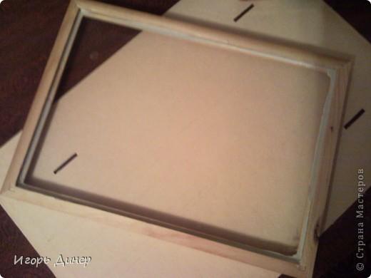 Мастер-класс: Подробный МК по углублению рамок для объемных панно и картин.. Фото 10