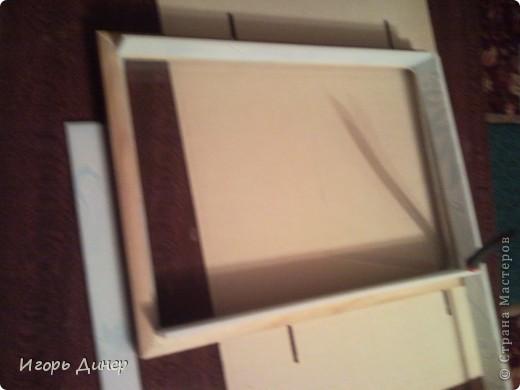 Мастер-класс: Подробный МК по углублению рамок для объемных панно и картин.. Фото 13