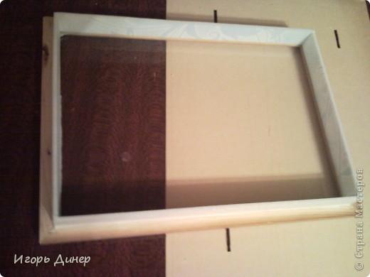 Мастер-класс: Подробный МК по углублению рамок для объемных панно и картин.. Фото 15