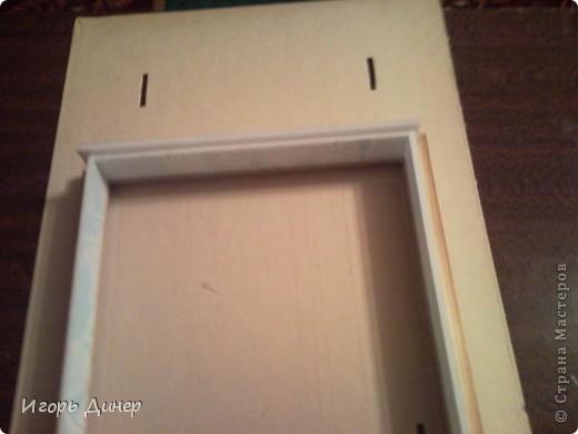 Мастер-класс: Подробный МК по углублению рамок для объемных панно и картин.. Фото 19