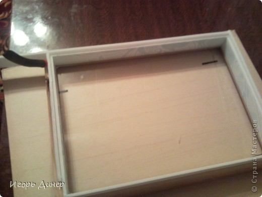 Мастер-класс: Подробный МК по углублению рамок для объемных панно и картин.. Фото 20