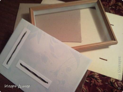 Мастер-класс: Подробный МК по углублению рамок для объемных панно и картин.. Фото 1
