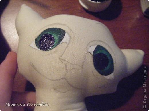 Доброго времени суток))) Свою манию шить, рисовать и клеить кучу стразов я снова решила воплотить в серию интерьерной игрушки... Не буду томить..... начнемс... . Фото 11