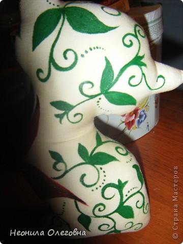 Доброго времени суток))) Свою манию шить, рисовать и клеить кучу стразов я снова решила воплотить в серию интерьерной игрушки... Не буду томить..... начнемс... . Фото 24