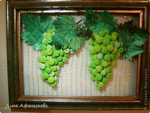 Виноградная ветвь своими руками