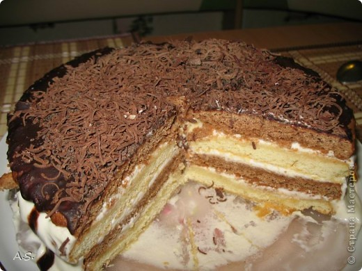 """Кулинария: """"Мишка"""" - наш любимый тортик: вкусный, простой и дешевый:))). Фото 1"""