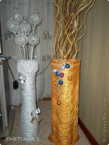 Как сделать ветки для напольной вазы своими