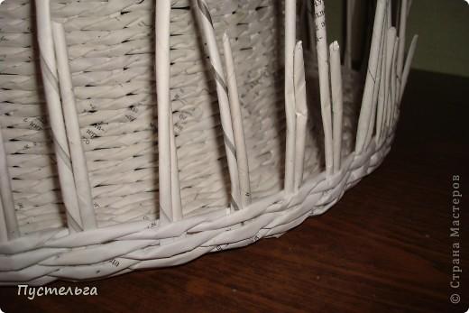 Поделка, изделие Декупаж, Плетение: Столик для вязания Бумага, Картон. Фото 14