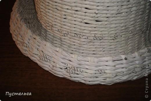 Поделка, изделие Декупаж, Плетение: Столик для вязания Бумага, Картон. Фото 15