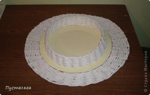 Поделка, изделие Декупаж, Плетение: Столик для вязания Бумага, Картон. Фото 19
