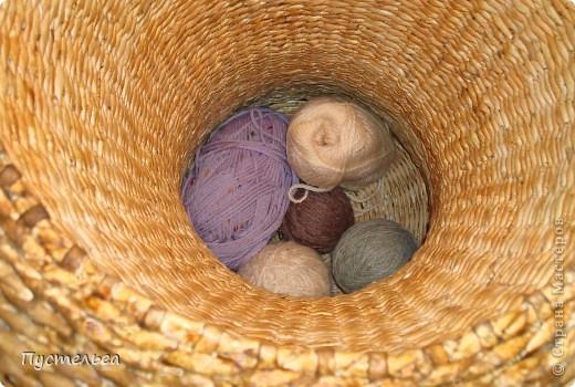 Поделка, изделие Декупаж, Плетение: Столик для вязания Бумага, Картон. Фото 22