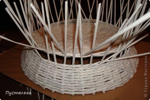 Поделка, изделие Декупаж, Плетение: Столик для вязания Бумага, Картон. Фото 5